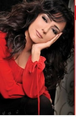 Amal Arafa, Syrian actress, singer,and writer: photos