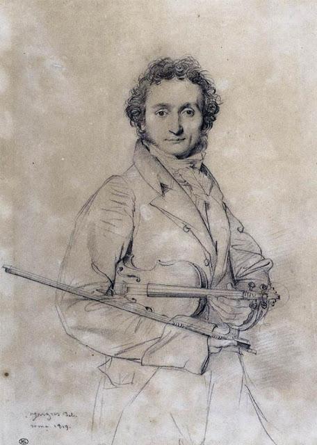 El violinista Paganini