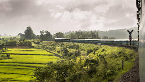 Dudhsagar train monsoon journey