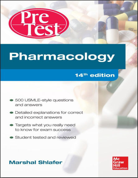 Pharmacology PreTest Self-Assessment and Review 14th Edition [PDF]