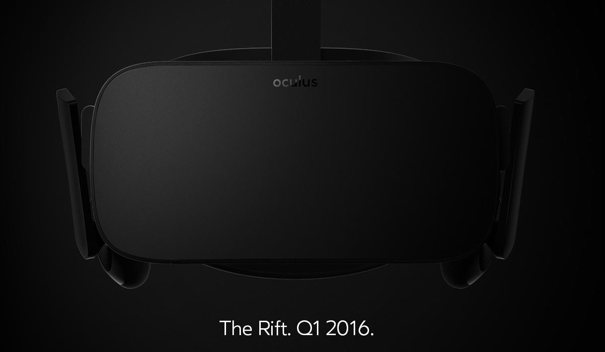 Oculus VR裝置終於商品化,預計2016上半現身消費市場