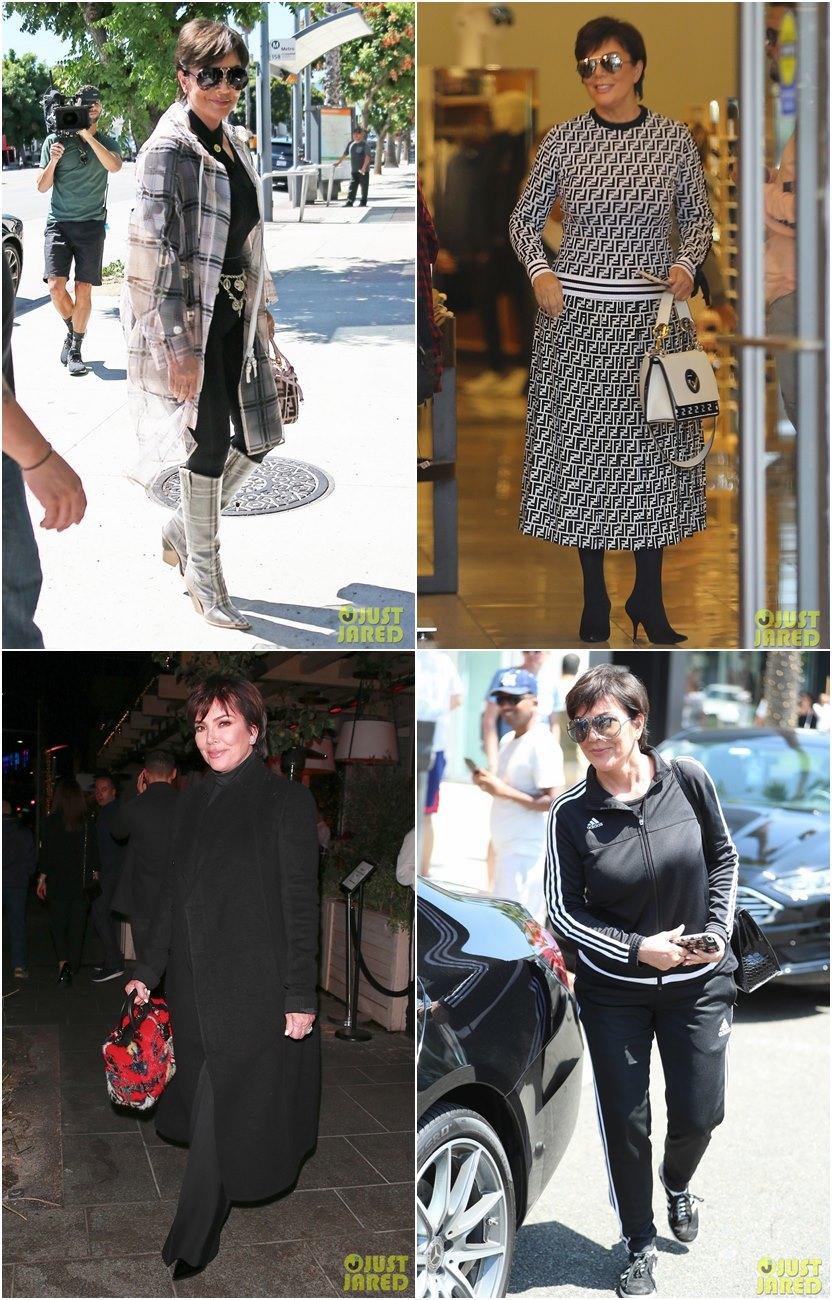 13 looks da Kris Jenner em moda para mulheres maduras