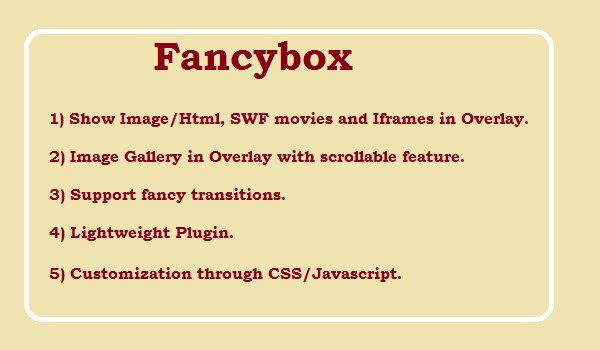 jQuery Fancybox