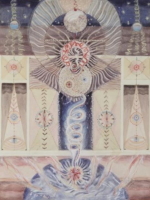 #Solange Knopf #Aquarelle sur papier #