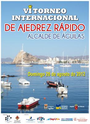 "VI Torneo Internacional de Ajedrez ""Alcalde de Aguilas"""