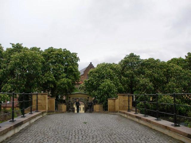 Entrada principal al recinto de la fortaleza de Arkeshus