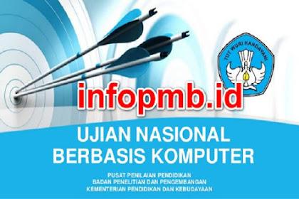 Informasi Jadwal Ujian (UN/UNBK) SD/SMP/MTS/SMA/SMK/MA 2020-2021