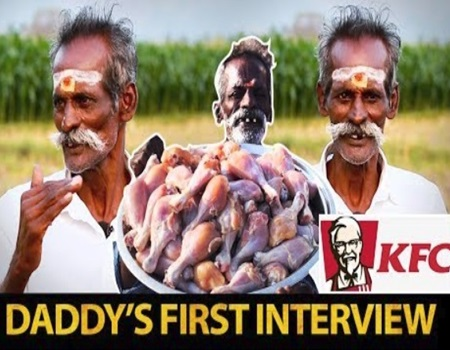 Daddy's KFC chicken recipe revealed | Village Food Factory Daddy's Arumugam and Gopinath Interview