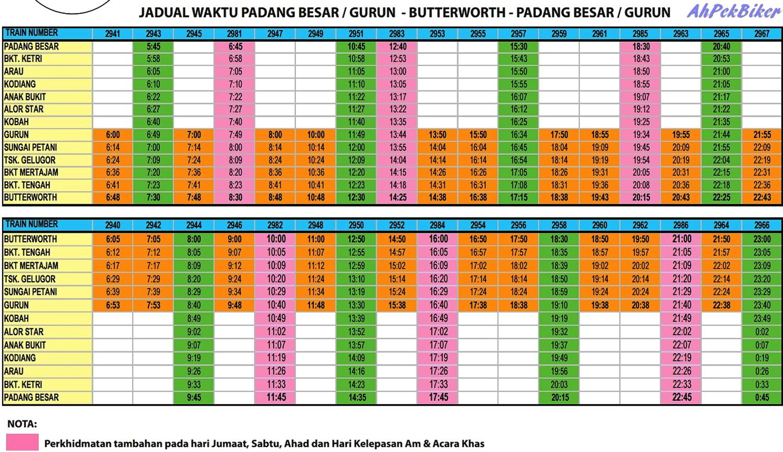 Ktm Butterworth Timetable