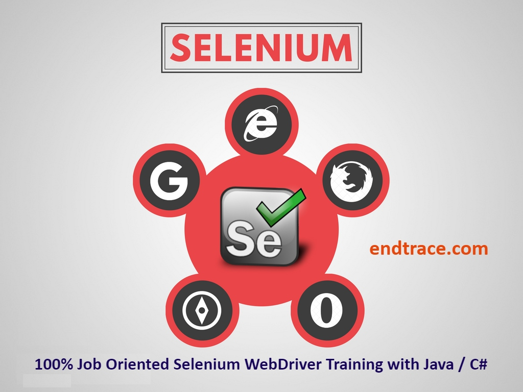 Selenium Automation Test Engineer Use cases for CSharp and