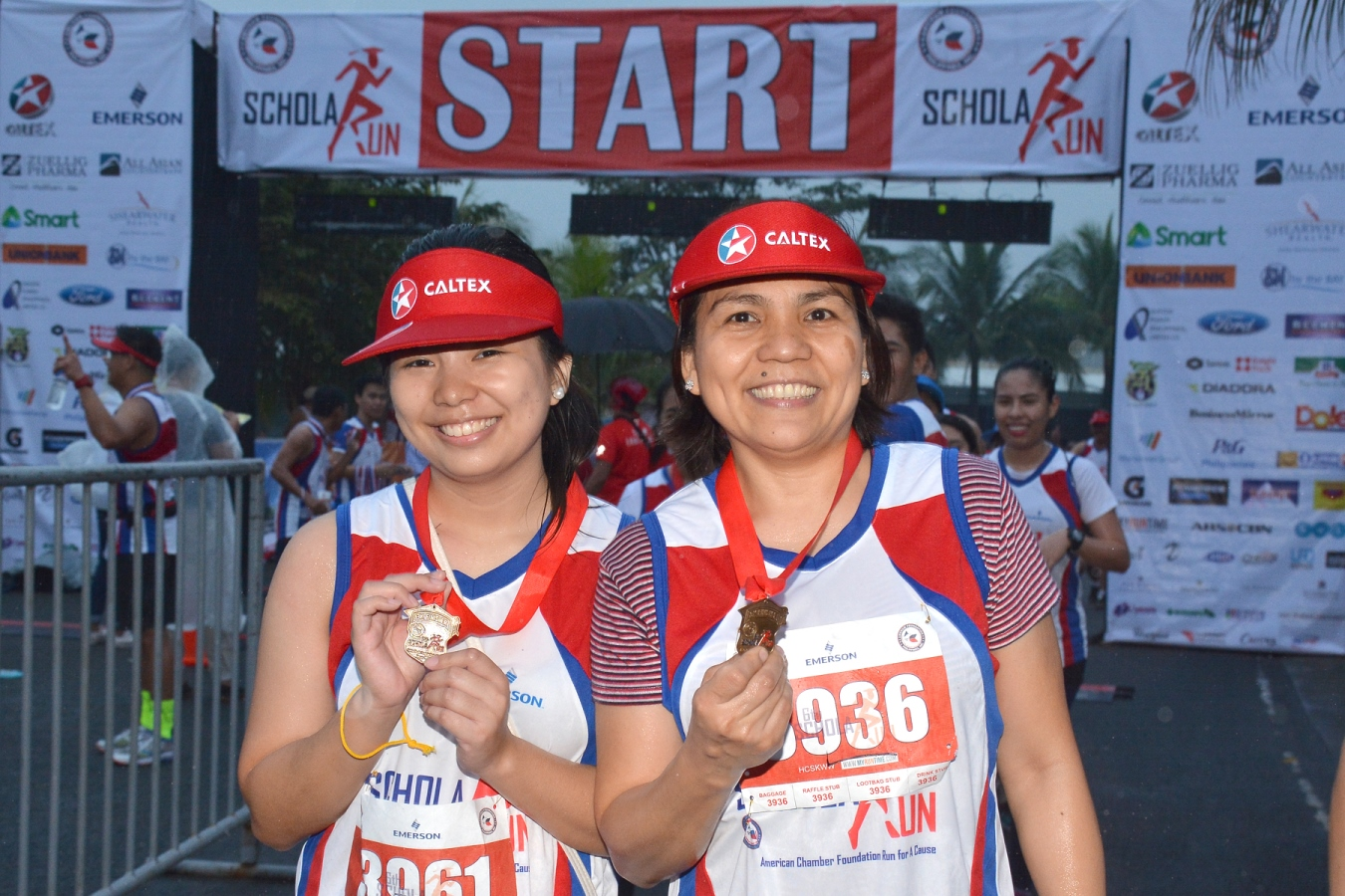 Chevron runs for underprivileged students in this year's 6th ScholaRUN