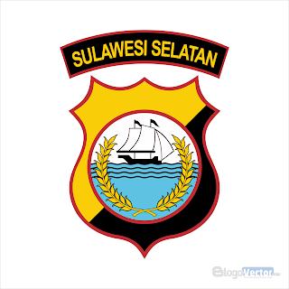 Polda Sulawesi Selatan Logo vector (.cdr)