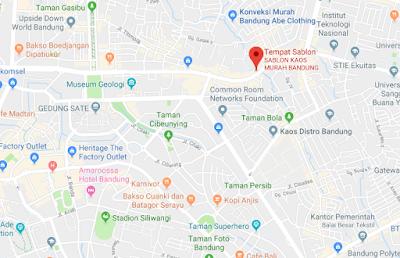 Alamat Konveksi Kaos Murah Bandung