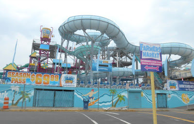 Splash Zone Waterpark in Wildwood New Jersey