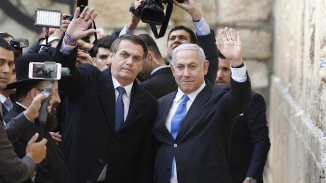 Bolsonaro admite que não será fácil transferir embaixada para Jerusalém