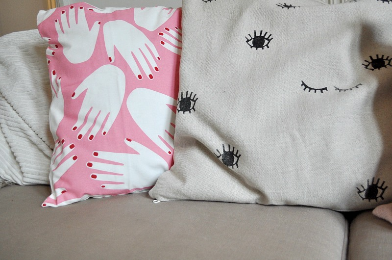 DIY cushion cover design