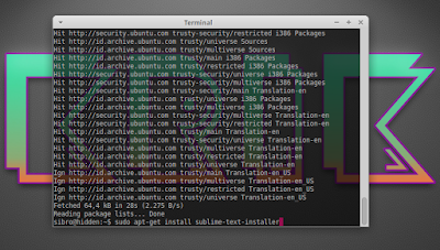 sudo apt-get install sublime-text-installer