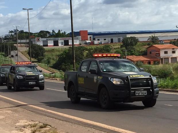 Força Nacional chega a São Luís para ajudar a combater ataques a ônibus