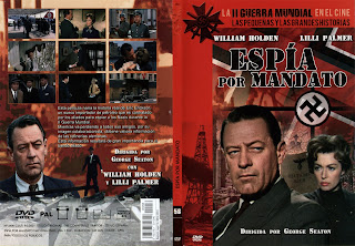 Espía por mandato / The Counterfeit Traitor / Carátula dvd