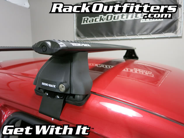Toyota Corolla Sedan Rhino-Rack 2500 Aero BLACK Roof Rack ...