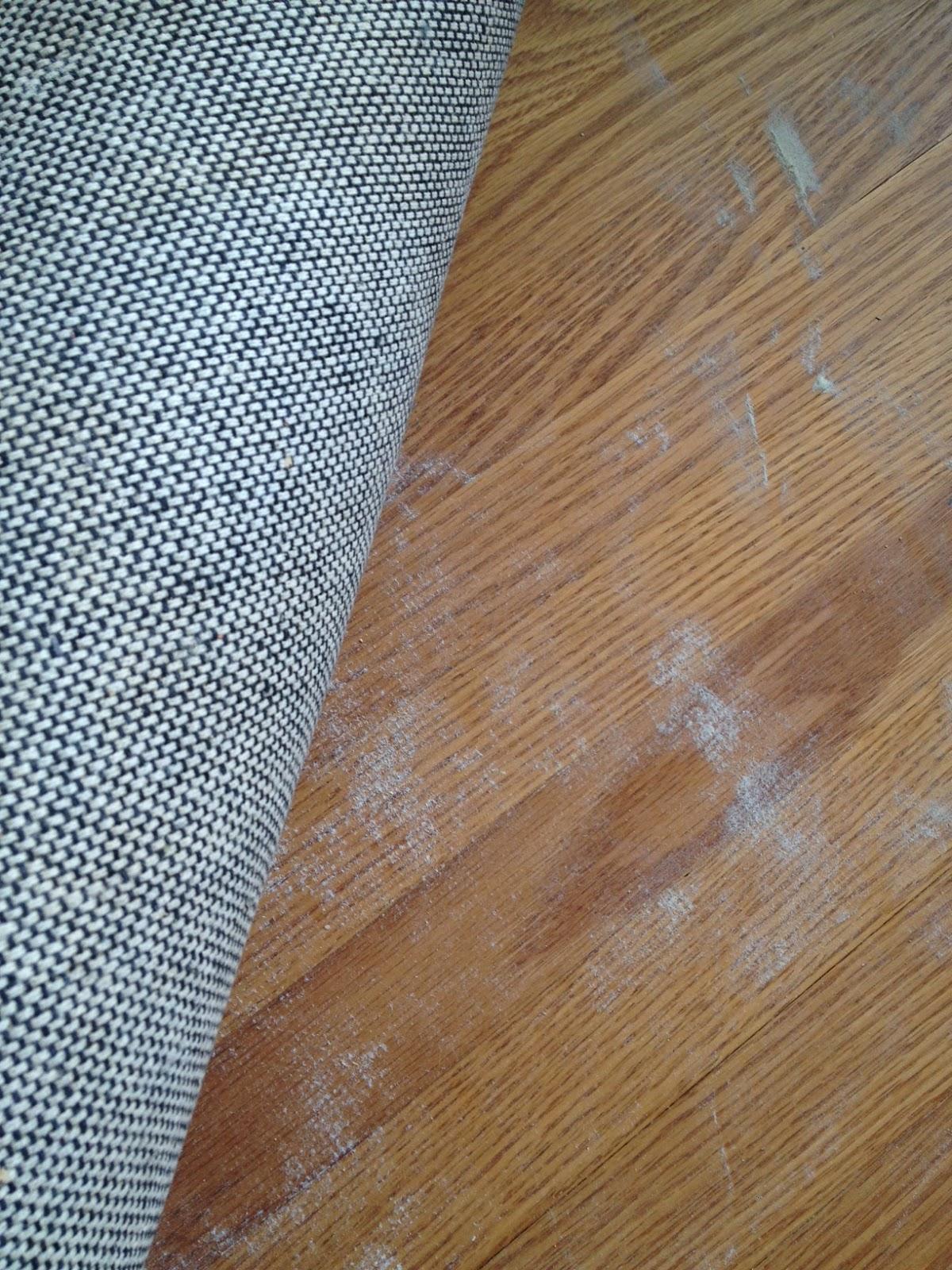 What S The White Powder Under My Rug