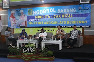 Ngobrol Bareng Jurnalis, Ning Ita Bahas Spirit of Majapahit