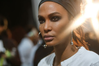 Joan Smalls On The Backstage Of Tom Ford Show At New York Fashion Week 2018