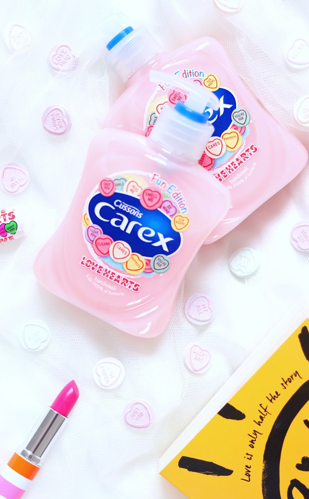 Carex Love Hearts Hand Wash