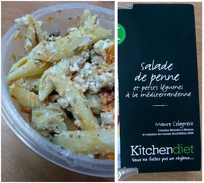kitchen diet, régime, salade de pennes, bullelodie
