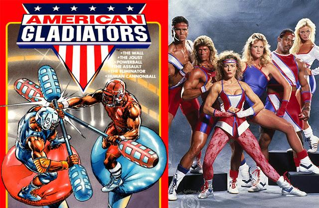 American Gladiators programma tv anni 90