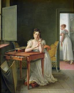 Michel-Martin Drolling (1789-1851) - Marceline Desbordes-Valmore.