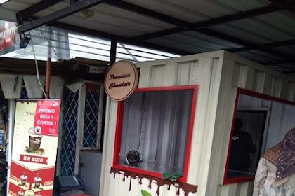 Booth semi Kontainer pesanan Bu Yan di Cibeber, Cimahi Jawa Barat
