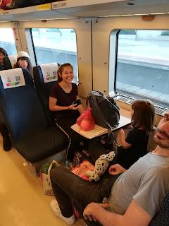 Zug fahren in China - Reiseblogger