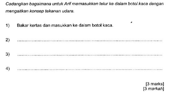 Blog Sains Pt3 Soalan Percubaan Sains Pt3 Kedah 2018 Contoh Soalan Kbat