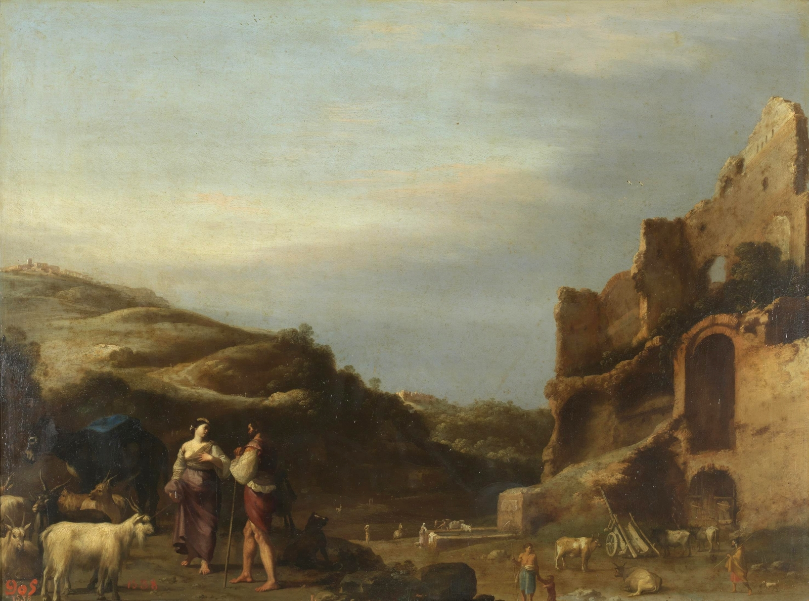 the dutch golden age landscape and