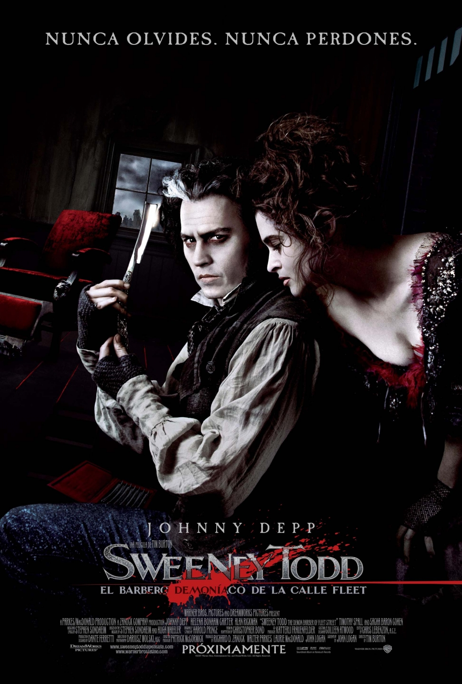 Sweeney Todd: The Demon Barber of Fleet Street สวีนนีย์ ท็อดด์ บาร์เบอร์หฤโหดแห่งฟลีทสตรีท [HD][พากย์ไทย]