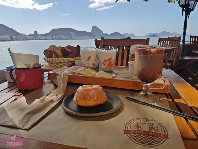 18 do Forte no Forte de Copacabana