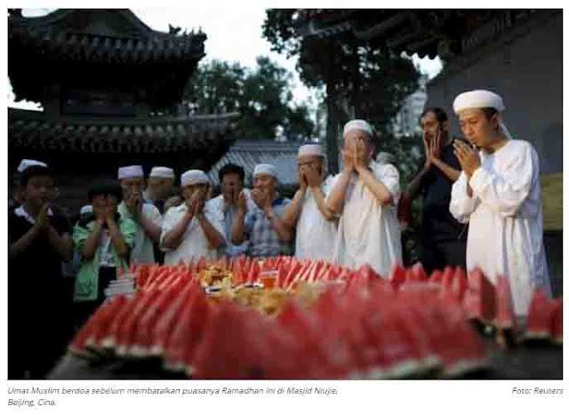 Cina Larang Anak Muslim Hui Hadiri Pelajaran Agama