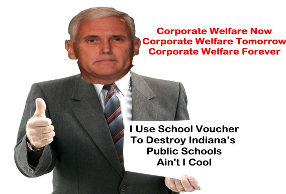 Image result for big education ape pence