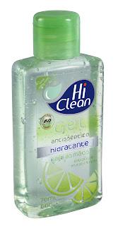 Manter as mãos higienizadas é fundamental para manter germes, vírus e bactérias bem longe. Para isso, um grande aliado da saúde é o Gel Antisséptico Hi Clean, no qual uma das opções é a de Extrato de Frutas Cítricas (Kiwi e Limão), ricas em minerais, vitaminas e proteínas, além de citroflavonóides.