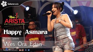 Lirik Lagu Wes Ora Edan (Dan Artinya) - Happy Asmara