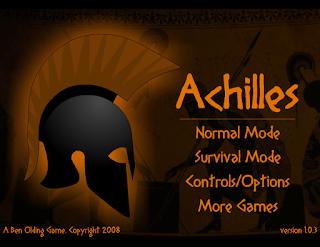 لعبة المحارب الروماني انت المحارب الوحيد المتبقي لانقاذ الامبراطورية الرومانية من الدمار achilles-games