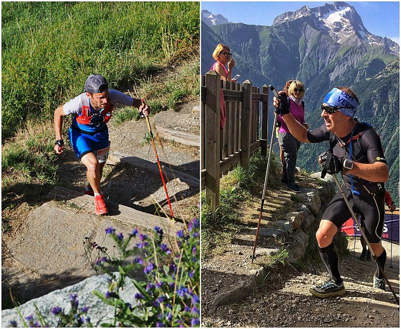 trial running Les 2 Alpes