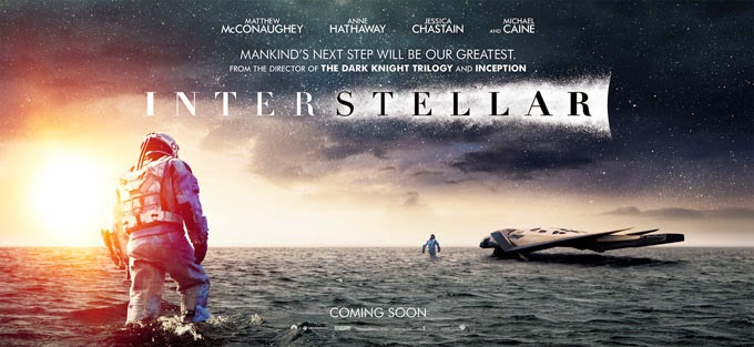 Interstellar - Banner Movie Poster