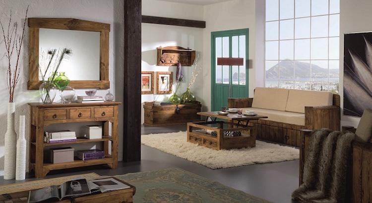salón de estilo vintage
