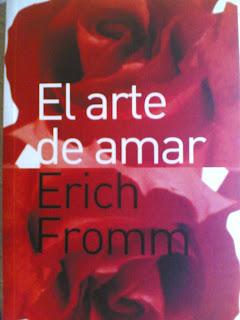 Portada del libro El arte de Amar, de Erich Fromm