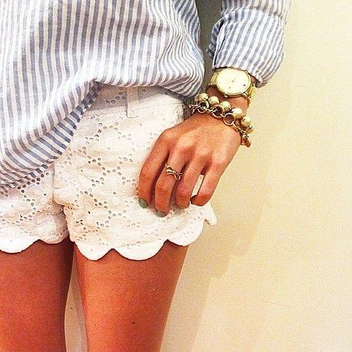 white-eyelet-shorts