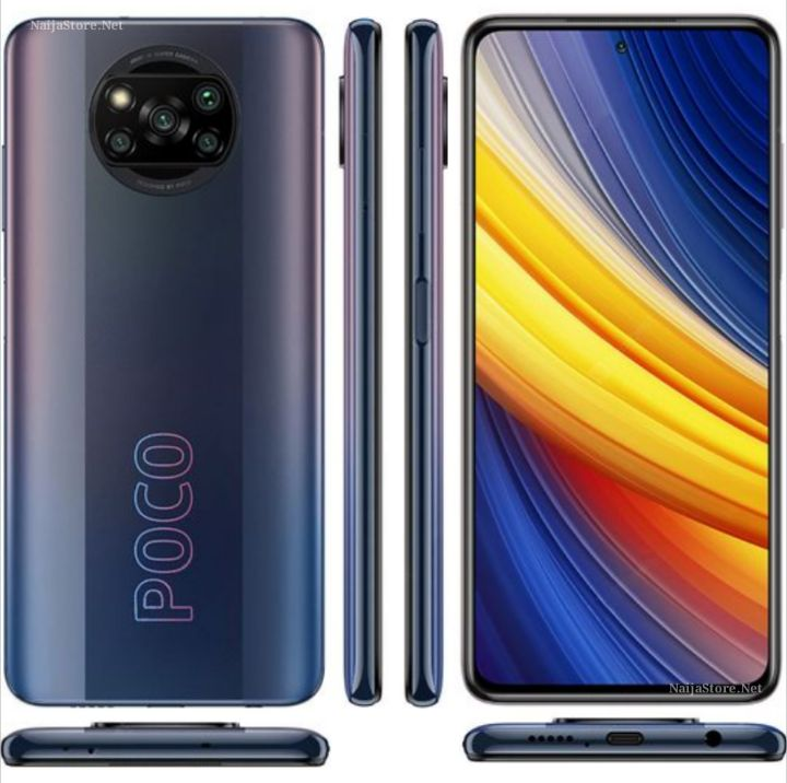 Xiaomi POCO X3 Pro Smartphone - Specs: Android 11 (MIUI 12), 256GB/8GB Memory, 5160mAh Battery, Snapdragon 860, 6.67Inch FHD+, 5Cams, 4G, 2SIMs..