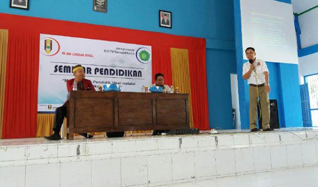 Pikom IMM Jurusan Sosial STKIP Muhammadiyah Bone Gelar Seminar Pendidikan