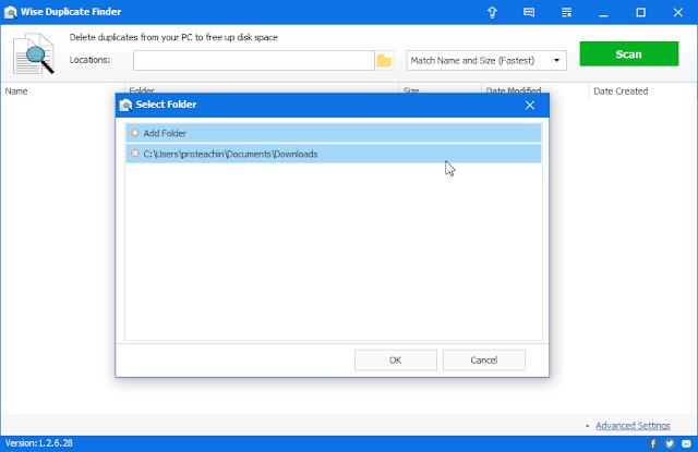شرح وتحميل Wise Duplicate Finder حذف الملفات المكررة